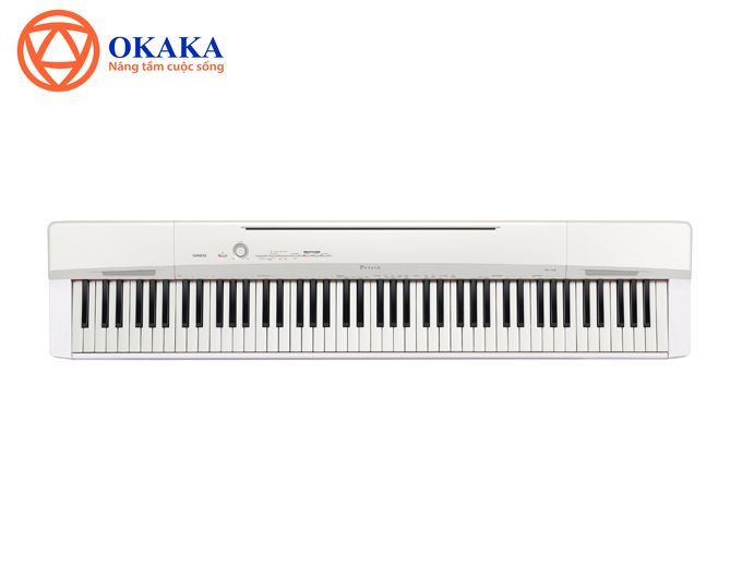 Kế thừa phiên bản cũ PX-150 vốn nổi tiếng của Casio cả về thiết kế lẫn chất lượng âm thanh, đàn piano điện Privia PX-160 còn có nhiều cải tiến mới không chỉ phù hợp với người mới tập đàn mà còn làm hài lòng cả những người chơi lâu năm.