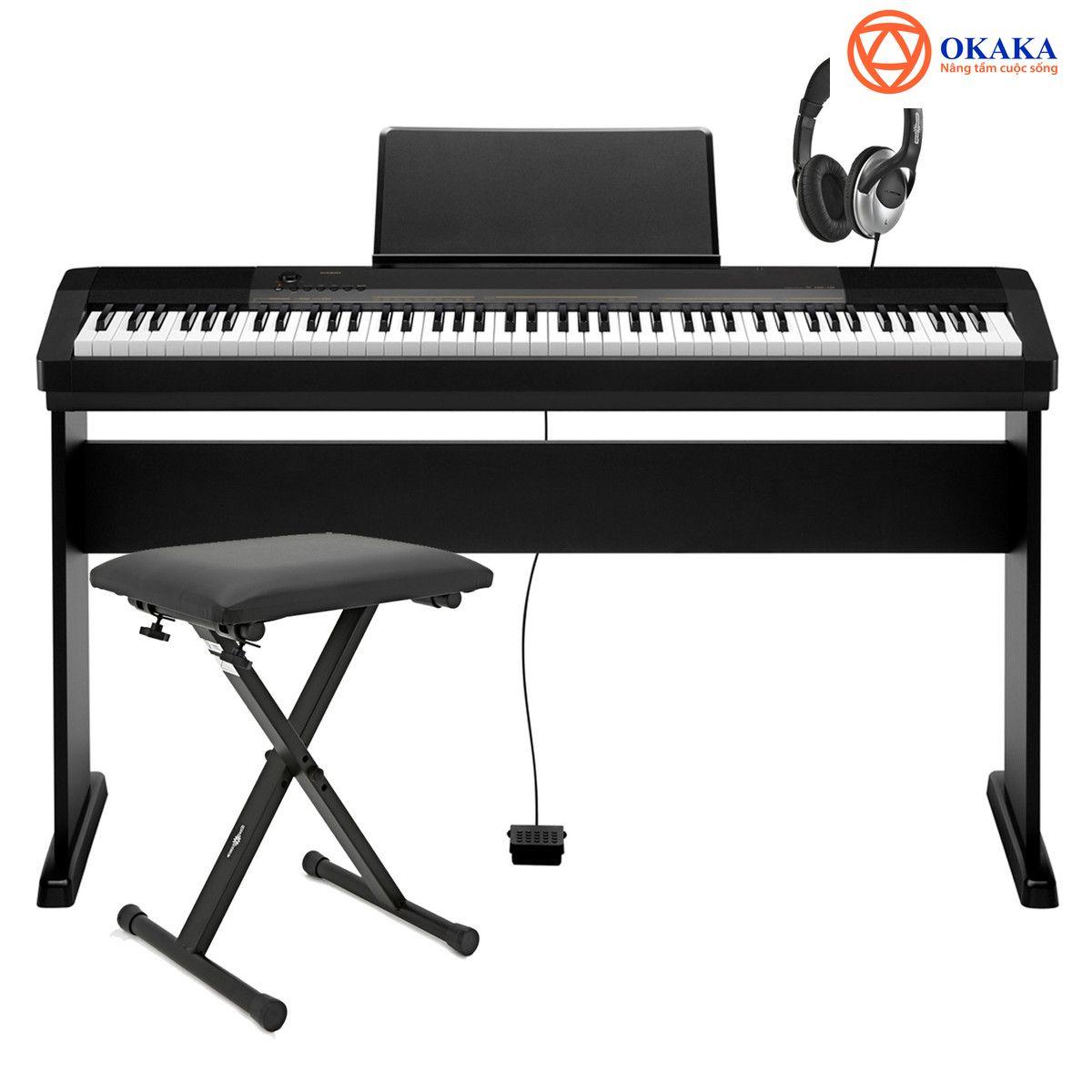Cải thiện một cây piano bán chạy như CDP 120 quả là một thách thức lớn cho Casio, nhưng một lần nữa hãng đàn bình dân Nhật Bản này đã làm ngạc nhiên tất cả những người yêu piano khi tung ra model mới – đàn piano điện CDP-130 giá dưới 10 triệu rất thích hợp cho người mới học.