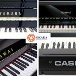 OKAKA Music - cửa hàng bán đàn piano điện tại TPHCM chính hãng