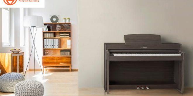 Yamaha ra mắt dòng đàn piano điện Clavinova CLP-600 series