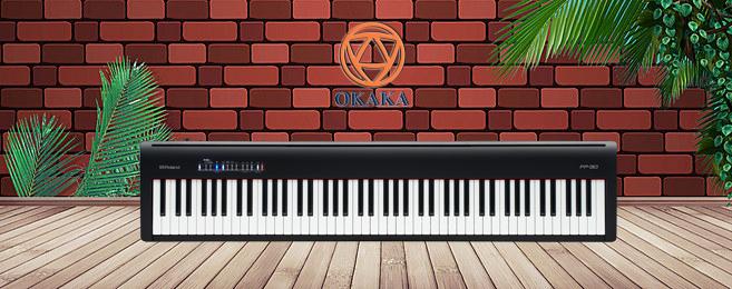 Nếu nghĩ vậy thì có lẽ bạn chưa biết có một cây đàn piano điện mới đáp ứng đủ 3 tiêu chí trên! Đó chính là đàn piano điện Roland FP-30! Với Roland FP-30, ước mơ sở hữu một cây đàn piano giá mềm nhưng cho âm thanh tuyệt vời trong kiểu dáng nhỏ gọn sẽ sớm trở thành hiện thực!