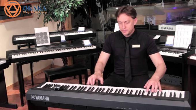 Đàn piano điện Yamaha P-115 với những tính năng độc đáo giúp người chơi làm chủ nhạc cụ theo phong cách yêu thích thực sự là người bạn...