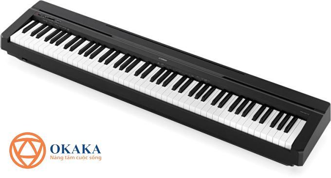 Bạn sẽ được tận hưởng âm thanh piano chân thực với thiết kế nhỏ gọn và tinh tế đặc trưng của dòng P-series khi sở hữu model đàn piano điện Yamaha P-45 có giá phải chăng.