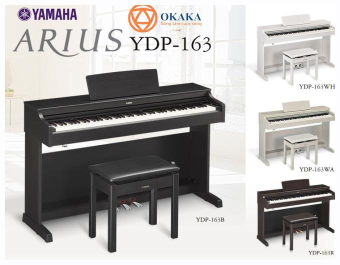 Nếu được hỏi bạn có muốn sở hữu một cây đàn piano điện gia đình giá tốt như đàn piano điện Yamaha YDP-163 dòng Arius, chắc hẳn bạn sẽ trả lời là MUỐNNN!!!