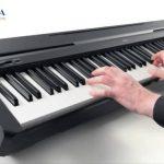 Với thiết kế nhỏ gọn tinh tế với âm thanh piano chân thực, đàn pinano điện Yamaha P45 mang đến cho bạn cảm giác như đang chơi trên đại dương..