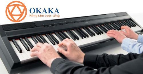 Đàn piano điện Yamaha P-115 là lựa chọn tuyệt vời nếu bạn đang tìm kiếm một cây đàn piano điện có đầy đủ 88 phím có thể mang đến cho bạn chất lượng âm thanh và sự linh hoạt cao.