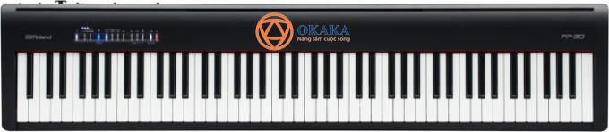 Đó là lý do tại sao tôi rất tò mò khi chơi trên cây đàn piano điện Roland FP-30. Cây đàn này là hiện thân mới nhất của khái niệm piano điện..