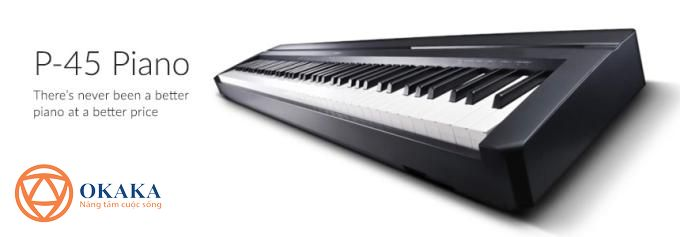 Nó có đầy đủ các tính năng của cây đàn piano điện Yamaha P-35 cũ, đồng thời có thêm một số tính năng mới thú vị như cổng kết nối USB, cho...