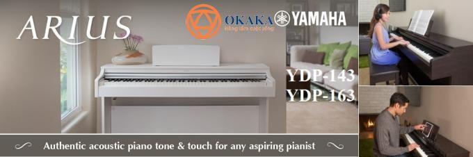 Đàn piano điện Yamaha YDP-163 dòng Arius là model đàn piano điện 88 phím có rất nhiều tính năng đáng chú ý, nhưng có một số điểm đáng lưu ý..