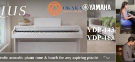So sánh đàn piano điện Yamaha YDP-143 và YDP-163 dòng Arius