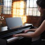Đàn piano điện Yamaha YDP-163 dòng Arius với động cơ âm thanh Pure CF và bàn phím Graded Hammer 3 với ba cảm biến mang lại cho bạn trải....