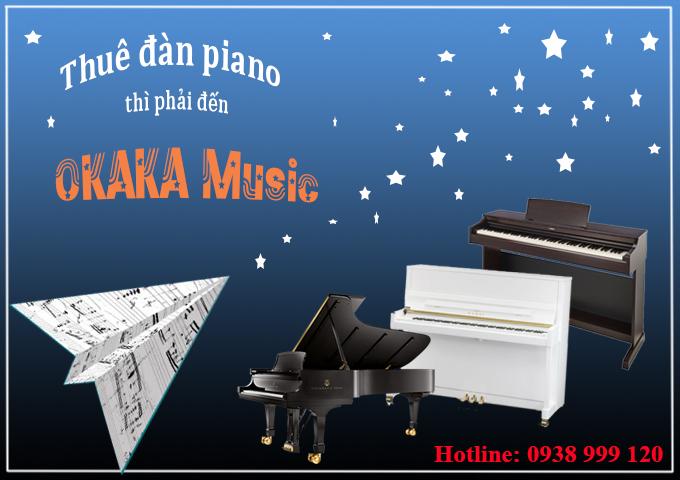 Hóa ra có rất nhiều lý do chính đáng để bạn thuê đàn piano thay vì mua chúng. Cùng OKAKA xem lý do của bạn có nằm trong số những lý do sau đây không nhé!