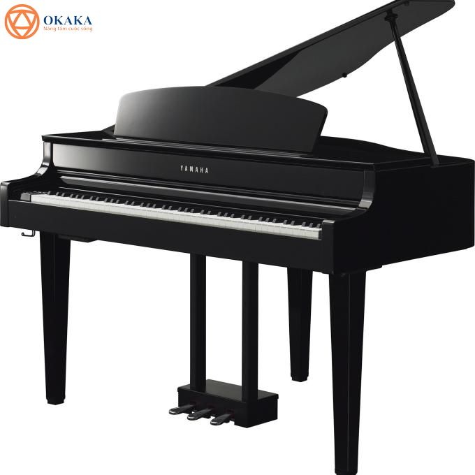 """Nếu bạn mong muốn sở hữu một phiên bản đại dương cầm điện thu nhỏ thì đàn piano điện Yamaha CLP-565GP dòng Clavinova là """"thứ"""" bạn đang tìm kiếm. Đàn thuộc series Clavinova CLP-500 đỉnh cao với khả năng âm thanh """"một chín, một mười"""" với đàn cơ cổ điển."""