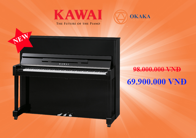 Nhưng chắc chắn bạn sẽ té ngửa khi OKAKA tiết lộ giá đàn piano Kawai ND-21 – model đàn piano cơ mới vừa được Kawai trợ giá cho riêng thị trường Việt Nam.