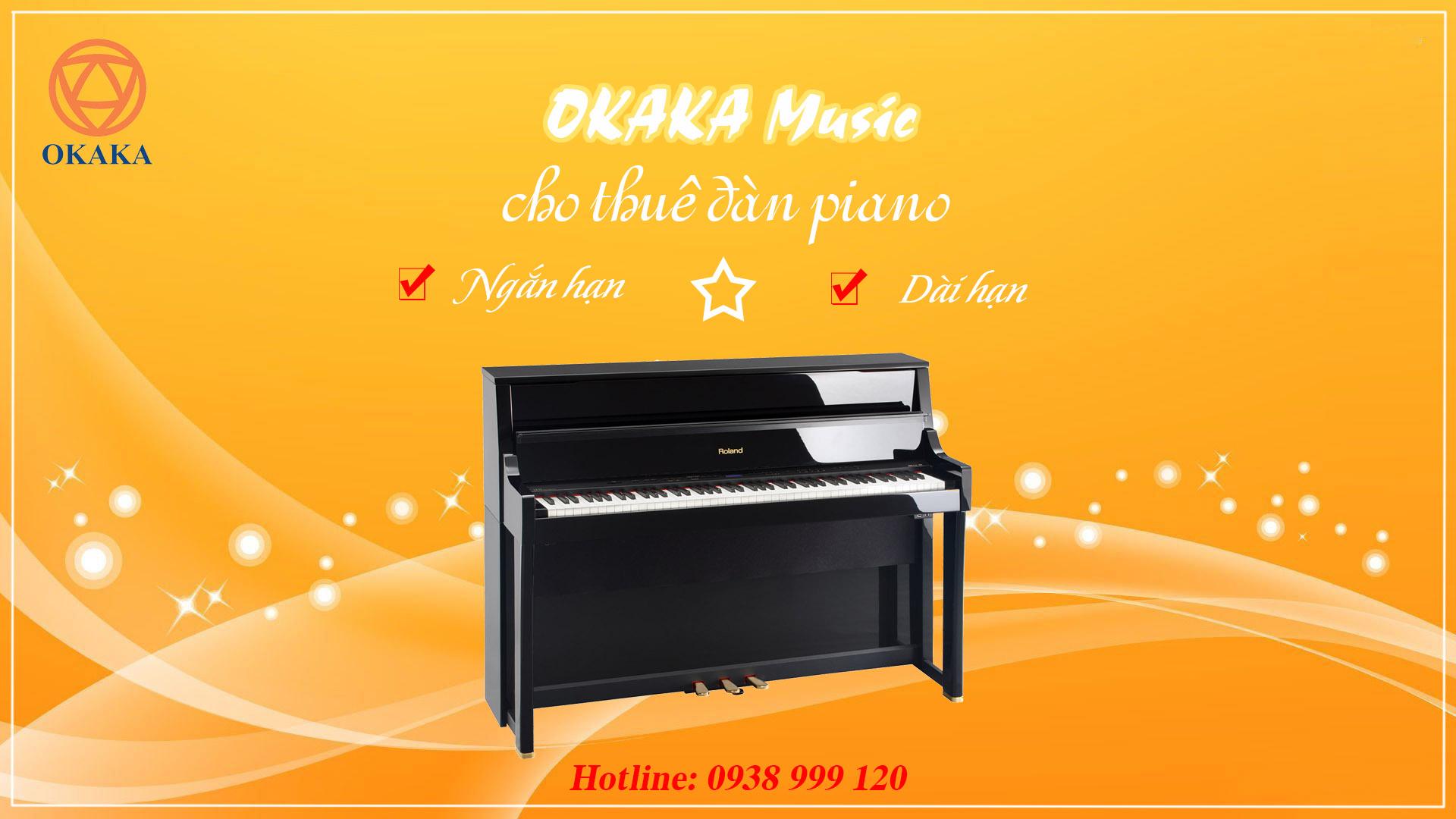 Gần đây có rất nhiều khách hàng (chat inbox, comment, gửi email…) hỏi về dịch vụ cho thuê đàn piano ở OKAKA Music. Bài viết này tổng hợp tất cả những câu hỏi thường gặp để bạn dễ theo dõi.