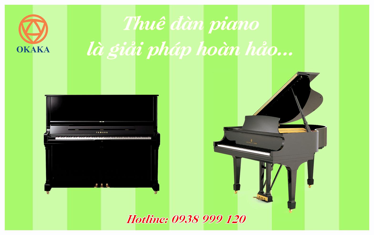 Tư vấn thuê đàn piano cho khách cũng nhiều, hôm nay OKAKA Music chia sẻ đến bạn những trường hợp thuê đàn piano là giải pháp hoàn hảo, hy vọng giúp ích cho bạn ít nhiều trong việc đưa ra quyết định có nên thuê đàn piano hay không.