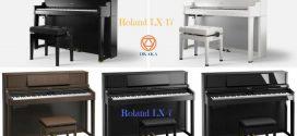 So sánh đàn piano điện Roland LX-7 và LX-17