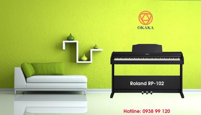 Sử dụng động cơ âm thanh SuperNATURAL Sound với phức điệu lên đến 128 nốt, tích hợp công nghệ bàn phím PHA-4 với 5 mức độ nhạy và cổng kết nối Bluetooth 4.0, đàn piano điện Roland RP-102 thực sự là lựa chọn tối ưu cho người mới bắt đầu.