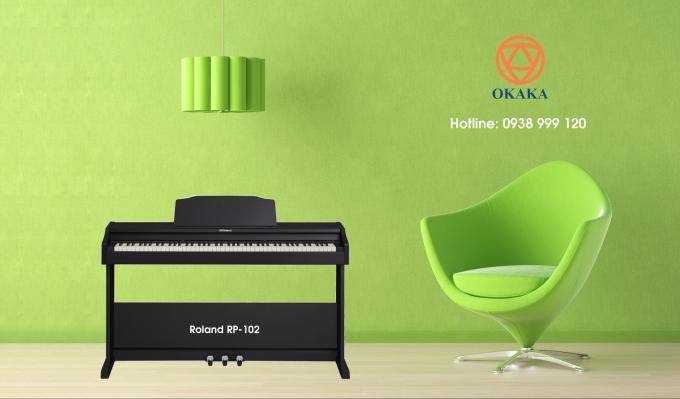 Nhờ các tính năng tiên tiến, đàn piano điện Roland RP-102 sẽ tiếp tục hỗ trợ bạn khi kỹ năng chơi đàn của bạn phát triển. Nếu là người mới học và không có nhiều ngân sách đầu tư, RP-102 xem ra là lựa chọn lý tưởng cho bạn.