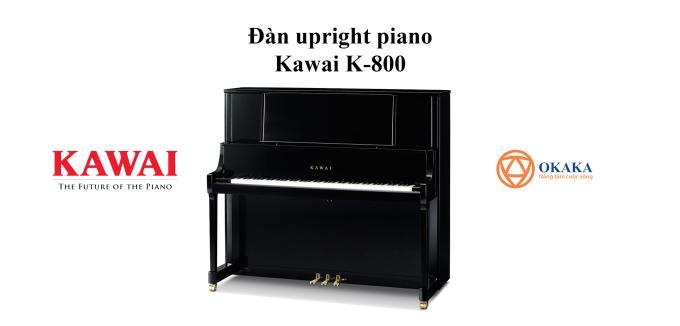 Đàn upright piano Kawai K-800 với chiều cao 134 cm là mẫu mực của sự khéo léo trong thiết kế đàn upright piano. Dáng vẻ thanh lịch cùng với âm sắc đặc biệt của nó sẽ đáp ứng nhu cầu của bất kỳ studio dạy đàn chuyên nghiệp nào cũng như nhu cầu biểu diễn cá nhân.