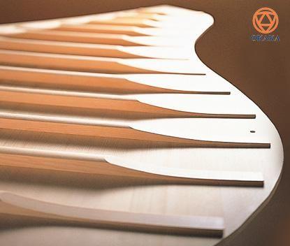 """Được thiết kế theo kích thước phổ biến nhất của một cây """"grand piano cổ điển"""", đàn piano cơ Kawai GL-40 có chiều dài lớn hơn so với những cây đàn piano cùng loại để mang đến sự cộng hưởng tiếng bass tuyệt vời hơn và tăng cường sự thể hiện âm thanh."""