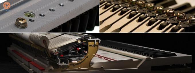Là đỉnh cao nghệ thuật của dòng GX, đàn piano cơ Kawai GX-7 đã chứng tỏ được danh tiếng và uy lực vượt trội nên đã trở thành sự lựa chọn tuyệt đối của các nghệ sĩ xuất chúng.