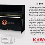 Với chiều cao 130 cm và thang âm được thiết kế mới, đàn upright piano Kawai K-500 mang đến sự kết hợp hiếm hoi của sức mạnh, phạm vi hoạt động và sự phong phú về âm sắc để đáp ứng nhu cầu âm nhạc của bất kỳ studio chuyên nghiệp nào.