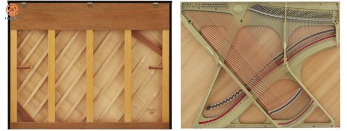 Đàn upright piano Kawai K-600 với chiều cao 134 cm có âm thanh tột đỉnh cũng như cảm ứng nhạy, thể hiện hoàn hảo sắc thái âm thanh. Khả năng đặc biệt này làm mê hoặc những nghệ sĩ piano đòi hỏi khắt khe.