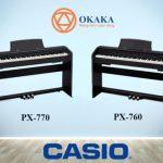 Casio PX-770 là một trong những model đàn piano điện dòng Privia mới ra mắt năm 2018. Điều gì làm cho đàn piano điện Casio PX-770 Privia trở nên đặc biệt?