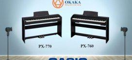 Đánh giá đàn piano điện Casio PX-770 dòng Privia