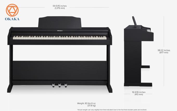 """Có những sự thật nếu không được tiết lộ sẽ không ai biết. Và sẽ thật là đáng trách nếu OKAKA biết mà lại không chia sẻ. Mời bạn cùng OKAKA khám phá 5 lý do thú vị khiến nhiều khách hàng khó cưỡng lại việc """"móc hầu bao"""" để mua đàn piano điện Roland RP-102 trong bài viết sau nhé!"""