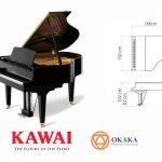 Với chiều dài 166cm, đàn piano Kawai GL-30 mang dáng dấp của một cây grand piano cổ điển không chỉ mang đến cho người chơi âm thanh phong phú và tuyệt vời mà còn tô điểm cho bất kỳ ngôi nhà hoặc studio nào.