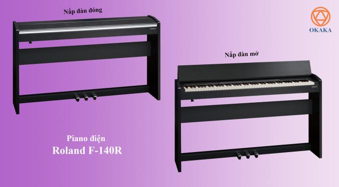 Trước khi model RP-102 được giới thiệu vào cuối năm 2017, đàn piano điện Roland F-140R là sự bổ sung mới nhất cho dòng sản phẩm piano điện dành cho gia đình có giá phải chăng nhất. Dù vậy, F-140R vẫn là lựa chọn hàng đầu của nhiều người. Vậy điều gì khiến Roland F-140R tuyệt vời như vậy?