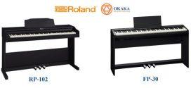 Review đàn piano điện Roland RP-102