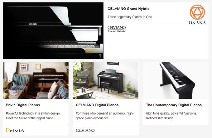 Bao nhiêu câu hỏi là bấy nhiêu băn khoăn của người dùng khi thấy các cửa hàng bán đàn piano điện Casio tại TPHCM chạy quảng cáo, đưa tin giới thiệu. Bài viết này sẽ cho bạn cái nhìn tường tận về thương hiệu đàn piano điện nổi tiếng tại Nhật Bản không kém gì Yamaha hay Roland.