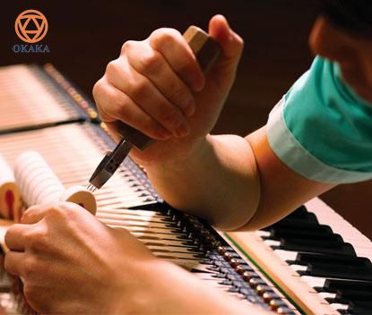 Đàn piano cơ Shigeru Kawai SK-2 có kiểu dáng thanh lịch của một cây grand piano cổ điển với âm thanh phong phú chưa từng có so với những cây đàn piano khác cùng loại.