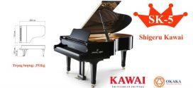 Đàn piano cơ Shigeru Kawai SK-5 – OKAKA Music