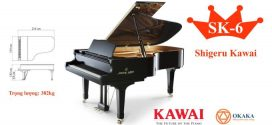 Đàn piano cơ Shigeru Kawai SK-6 – OKAKA Music