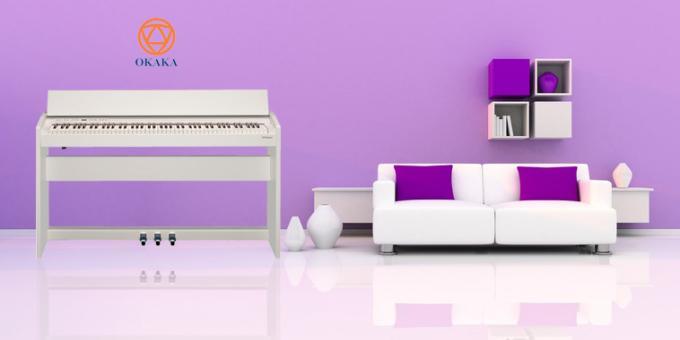 Với thiết kế nhỏ gọn và tích hợp nhiều công nghệ tiên tiến, đàn piano điện Roland F-140R dường như được thiết kế dành riêng cho không gian sống hiện đại. Đầu tiên, bạn sẽ trải nghiệm một giai điệu đàn piano đích thực trong một nhạc cụ nhỏ gọn và giá cả phải chăng.