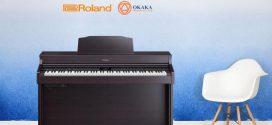 Đàn piano điện Roland HP-603/ HP-603A – sức hút từ kiểu dáng thanh lịch!