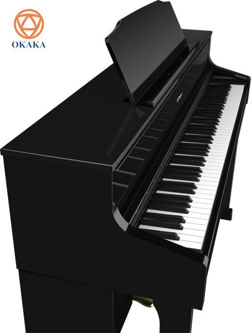 Roland đã nỗ lực không ngừng để mang âm thanh và màn trình diễn hòa nhạc vào nhà bạn, bằng cách lựa chọn kiểu dáng tủ, màu đàn và hệ thống loa sao cho phù hợp lối sống của bạn. Với kiểu dáng cổ điển, đàn piano điện Roland HP-605 chắc chắn sẽ tăng thêm vẻ đẳng cấp cho ngôi nhà của bạn, đặc biệt với 4 màu đen bóng, gỗ hồng sắc, đen và trắng để bạn chọn.