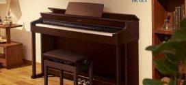 Đánh giá đàn piano điện Casio AP-470 dòng Celviano