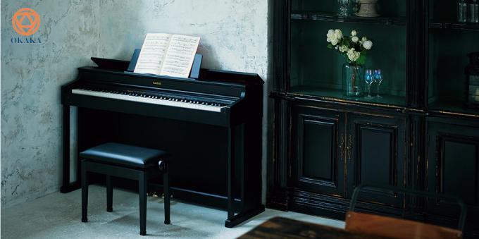 Dưới đây là một số lý do chính giải thích tại sao đàn piano điện Casio AP-470 mới là một trong những cây đàn piano điện tốt nhất có giá dưới 30 triệu mà bạn có thể mua nếu bạn đang tìm kiếm trải nghiệm chơi piano thỏa mãn từ cấp độ mới bắt đầu cho đến cấp độ chơi cao cấp cùng với kiểu dáng được thiết kế theo phong cách nội thất đẹp mắt.