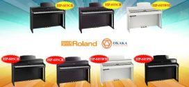 So sánh đàn piano điện Roland HP-603 và HP-605