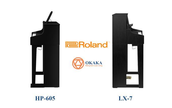 Nếu bạn muốn biết sự khác nhau giữa 2 model đàn piano điện Roland HP-605 và Roland LX-7 thì bạn đã ở đúng nơi! Cả hai đều là đàn piano điện cao cấp, được trang bị rất nhiều tính năng hàng đầu của Roland. Nếu nhìn vào thông số kỹ thuật, bạn sẽ thấy có nhiều điểm tương đồng giữa hai nhạc cụ, tuy nhiên cả hai mang lại trải nghiệm chơi hơi khác nhau.