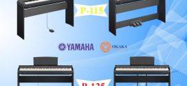 So sánh đàn piano điện Yamaha P-115 và P-125