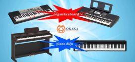 Sự khác nhau giữa đàn piano điện và đàn organ/ keyboard