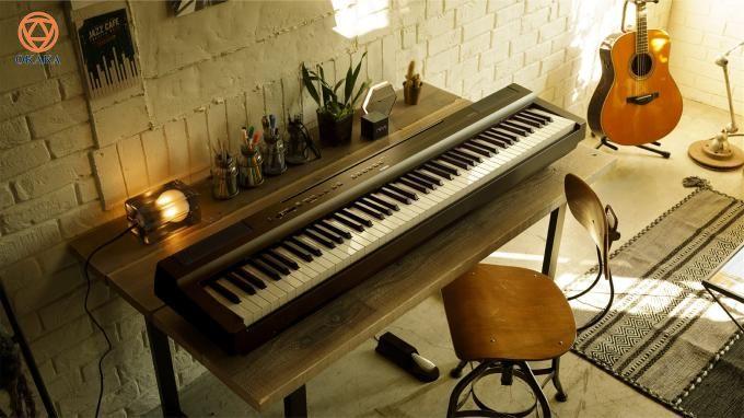 Dễ dàng di chuyển và có thể truy cập dễ dàng, đàn piano điện Yamaha P-125 mới ra mắt luôn sẵn sàng để trình diễn bất cứ khi nào hoặc bất cứ nơi nào bạn đang ở.