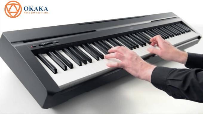 Với thiết kế nhỏ gọn và tinh tế đặc trưng của dòng P-series cùng với âm thanh piano chân thực, đàn pinano điện Yamaha P-45 mang đến cho bạn cảm giác như đang chơi trên đại dương cầm ở mọi lúc, mọi nơi.