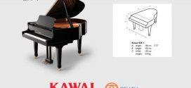 Thông số kỹ thuật đàn piano Kawai GX-1